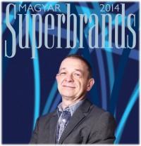A MESTER SuperBrands díj átvétele ünnepélyes keretek között
