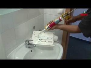 Kézszárító felragasztása (videó)