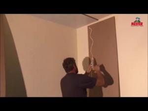 Falburkoló panelek felragasztása (videó)