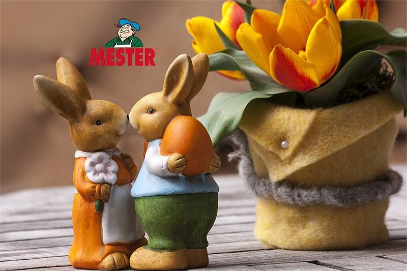 Kellemes húsvéti ünnepeket kíván a MESTER!