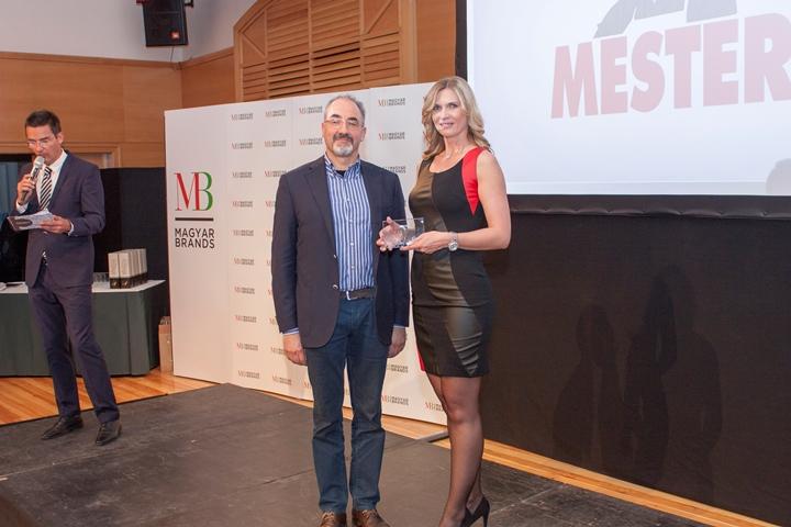 A MESTER hatodik alkalommal is átvehette a MagyarBrands díjat