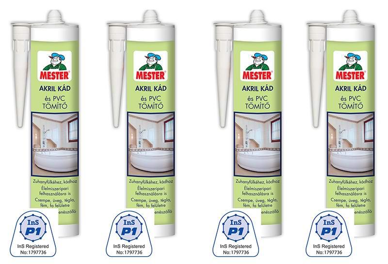 Akril kád és PVC tömítő alkalmazása az élelmiszeriparban