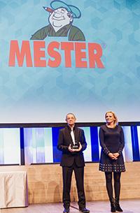 Újra Superbrands díjakat kapott a MESTER!