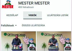 Ismeri a MESTER YouTube csatornáját?